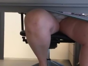 Under Table at doctor pt 1