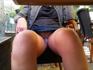 at the bar she removes her thong and surprise