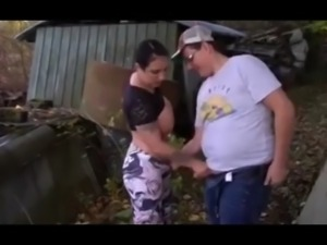 Fat boy loves teen