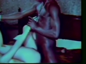 Vintage interracial pick up
