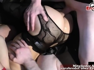 german swinger party with creampie and cumshots