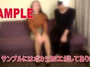 Slim Japanese lady in lingerie explores her kinky fantasy