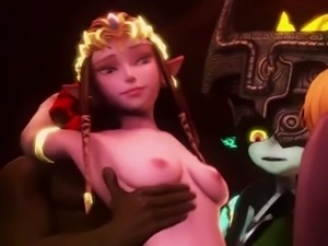 Zelda the legend of sex bitch 3