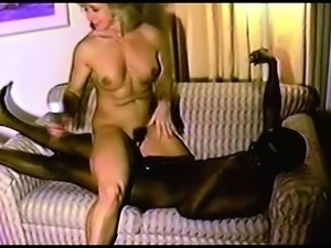 Hot And Horny blonde sex blowjob cumshot interracial
