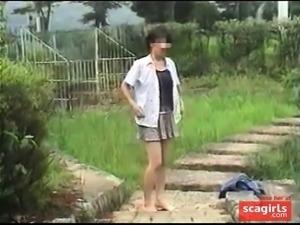 Japanese Outdoor Girl