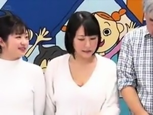 Luscious Japanese babes enjoy a wild group sex experience
