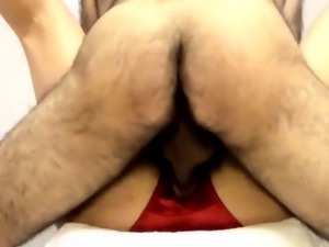 fat cunt gets fucked then cums and gets creampie