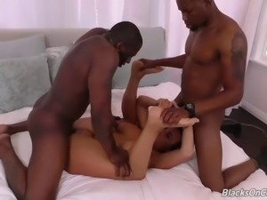 Bodacious milf gets filled up with bbc cream audrey.black
