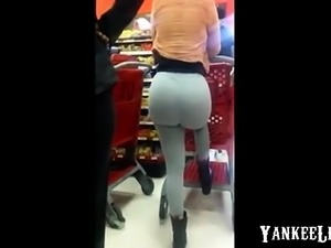 Bubble Ass Spandex Milf at Target