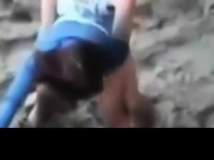 Amateur Public Beach Fuck