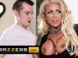 Brazzers - Dirty British milf Rebecca Jane Smyth craves some young cock