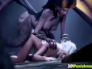 The witcher sex collection amongs other heroes