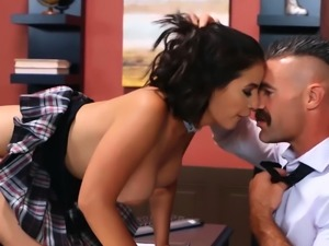 Big Tits at School - LaSirena69 Charles Dera