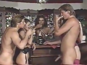Group sex scene from bar job 1995 with angelica bella