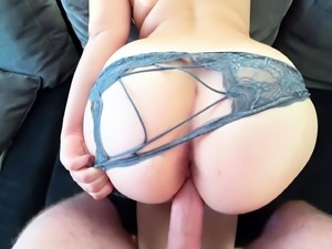Pov Clip Of Fat Slut Getting Fucked With Panties On