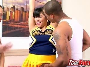 Team Fucks Girl - Chubby Asian Mika Tan